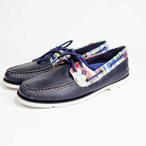 Sperry Top-Sider Leeward Madras Boat Men's Shoes